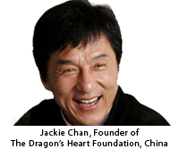 Jackie Chan European Charity in Holland